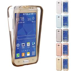 360° heltäckande silikon skal Samsung Galaxy Core Prime (SM-G3 Blå