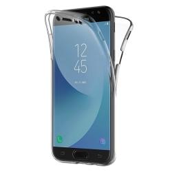 360° heltäckande silikon skal Samsung Galaxy J7 2017 (SM-J730F Guld