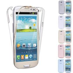 360° heltäckande silikon skal Samsung Galaxy S3 (GT-i9300) Guld