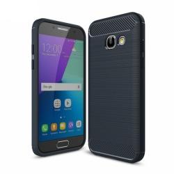 Borstat silikon TPU skal Samsung Galaxy A5 2017 (SM-A520F) Blå