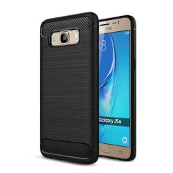 Borstat silikon TPU skal Samsung Galaxy J5 2016 (SM-J510F) Svart