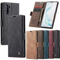 CaseMe Smart Magnet 2-kort Samsung Galaxy Note 10 (SM-N970F) Brun