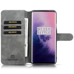 DG-Ming mobilplånbok 3-kort OnePlus 7 Pro Grå