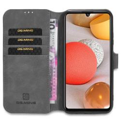 DG-Ming mobilplånbok 3-kort Samsung Galaxy A42 Grå