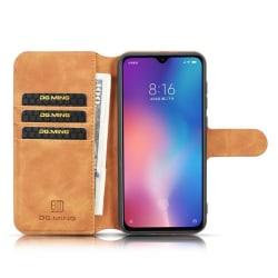 """DG-Ming mobilplånbok 3-kort Xiaomi Mi 9 (6.39"""") Brun"""