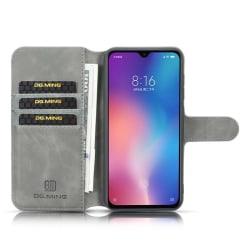 """DG-Ming mobilplånbok 3-kort Xiaomi Mi 9 (6.39"""") Grå"""