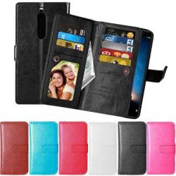 Dubbelflip Flexi 9-kort Huawei Mate 10 Lite (RNE-L21) Rosa