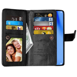 Dubbelflip Flexi 9-kort Huawei P40 Lite (JNY-L21A) Svart