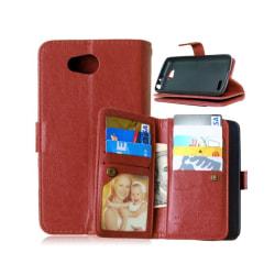 Dubbelflip Flexi 9-kort LG L70 / L65 (D280) Brun