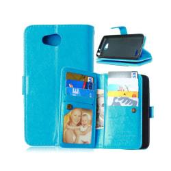 Dubbelflip Flexi 9-kort LG L70 / L65 (D280) Ljusblå