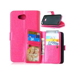 Dubbelflip Flexi 9-kort LG L70 / L65 (D280) Rosa