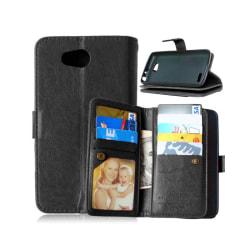 Dubbelflip Flexi 9-kort LG L70 / L65 (D280) Svart