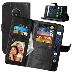 Dubbelflip Flexi 9-kort Motorola Moto G5 Plus (XT1683) Svart