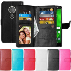 Dubbelflip Flexi 9-kort Motorola Moto G6 Play (XT1922) Svart