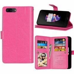 Dubbelflip Flexi 9-kort OnePlus 5 (A5000) Rosa
