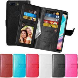 Dubbelflip Flexi 9-kort OnePlus 5T (A5010) Rosa