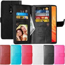 Dubbelflip Flexi 9-kort OnePlus 6 (A6000) Rosa