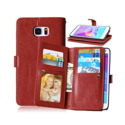 Dubbelflip Flexi 9-kort Samsung Galaxy Note 5 (SM-920C) Brun