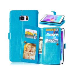 Dubbelflip Flexi 9-kort Samsung Galaxy Note 5 (SM-920C) Ljusblå