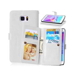Dubbelflip Flexi 9-kort Samsung Galaxy Note 5 (SM-920C) Vit