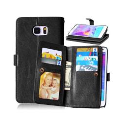 Dubbelflip Flexi 9-kort Samsung Galaxy Note 5 (SM-920C) Svart