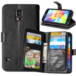Dubbelflip Flexi 9-kort Samsung Galaxy S5 Mini (SM-G800F)