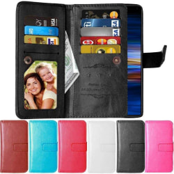 Dubbelflip Flexi 9-kort Sony Xperia 10 (I4113) Svart