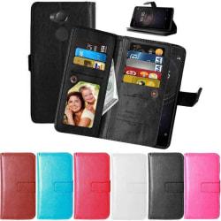 Dubbelflip Flexi 9-kort Sony Xperia XA2 (H4113) Röd