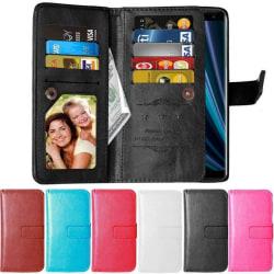 Dubbelflip Flexi 9-kort Sony Xperia XZ3 (H9436) Brun