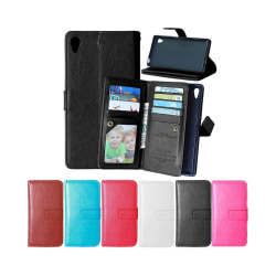 Dubbelflip Flexi 9-kort Sony Xperia Z5 (E6653) Brun