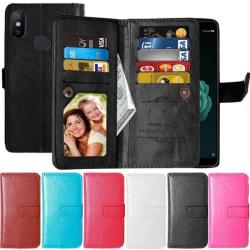 Dubbelflip Flexi 9-kort Xiaomi Mi A2 Rosa