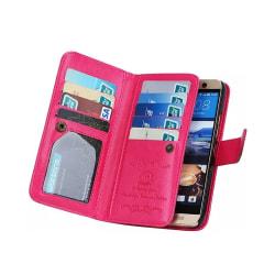 Dubbelflip Magnet 2i1 HTC ONE M9 Rosa