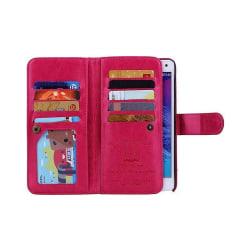 Dubbelflip Magnet 2i1 Samsung Galaxy Note 4 (SM-N910F) Rosa