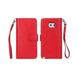 Dubbelflip Magnet 2i1 Samsung Galaxy Note 5 (SM-920C) Röd