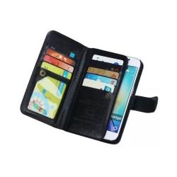 Dubbelflip Magnet 2i1 Samsung Galaxy S6 Edge Plus (SM-G928F) Svart