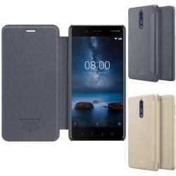FlipCover Nillkin Sparkle Nokia 8 (TA-1004) Guld