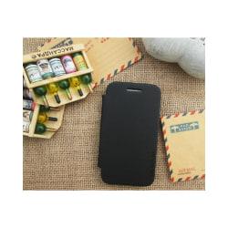 Flipcover Samsung Galaxy Ace (GT-s5830) Svart