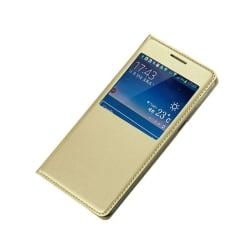 FlipCover Samsung Galaxy J5 2015 (SM-J500F) Guld