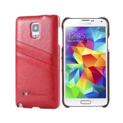 FloveMe skal med kortplatser Samsung Galaxy S5 (SM-G900F) Röd