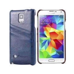 FloveMe skal med kortplatser Samsung Galaxy S5 (SM-G900F) Blå
