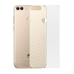 Kolfiber Skin Skyddsplast Huawei P Smart 2018 (FIG-L21)