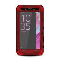 LOVE MEI Powerful Sony Xperia X Performance (F8131) Röd