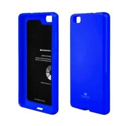 Mercury Jelly Case Huawei P8 2015 (GRA-L09) Blå