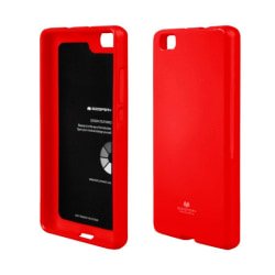 Mercury Jelly Case Huawei P8 2015 (GRA-L09) Röd