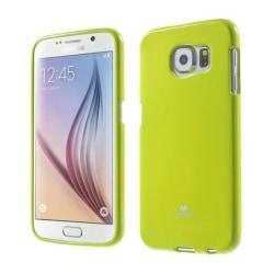Mercury Jelly Case Samsung Galaxy S6 (SM-G920F) Lime