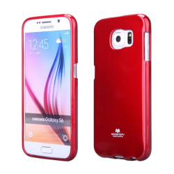 Mercury Jelly Case Samsung Galaxy S6 (SM-G920F) Röd