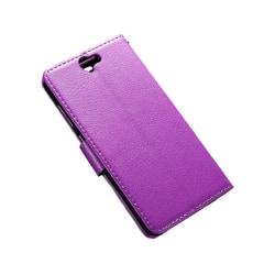 Mobilplånbok 2-kort HTC ONE A9 Lila
