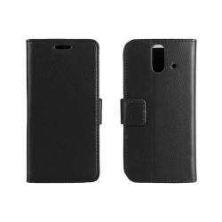 Mobilplånbok 2-kort HTC ONE E8 Svart