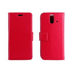 Mobilplånbok 2-kort HTC ONE E8 Röd