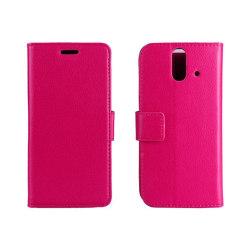 Mobilplånbok 2-kort HTC ONE E8 Rosa